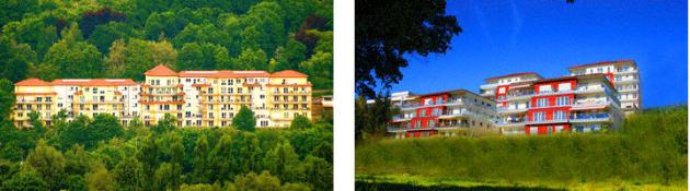 Residenz am Kurpark, Wohnpark Tauberland, Schloss Stetten Künzelsau